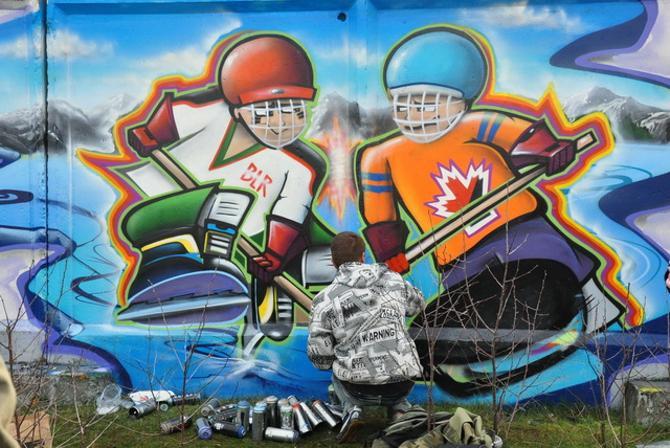 Граффити Гомель
