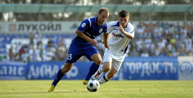 С бресткими одноклубниками Станислав Драгун забил свой первый гол в нынешнем чемпионате.