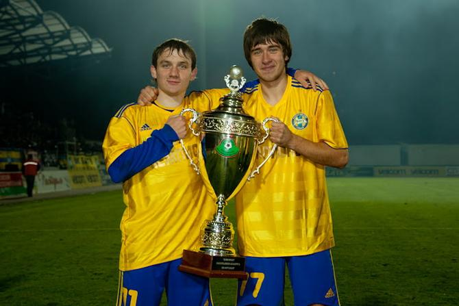 Михаил Гордейчук и Филипп Рудик впервые в карьере стали чемпионами Беларуси.