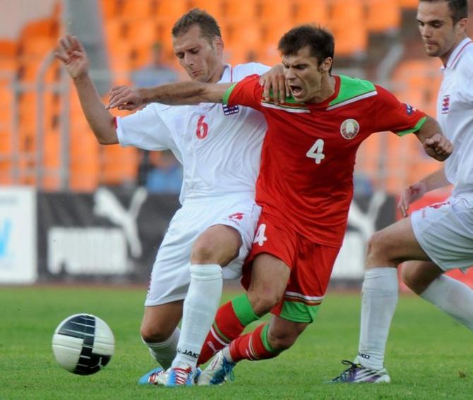 Тимофей Калачев забить не сумел, но потерзал Люксембург прилично.