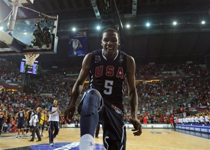 Кевин Дюрэнт стал MVP чемпионата мира.