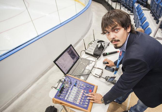 Вадим Кривовяз заинтересовался звуком только на втором курсе университета