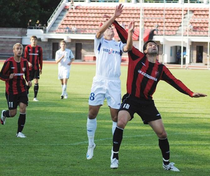 Дмитрий Мозолевски, забив гол, снял все вопросы о победителе