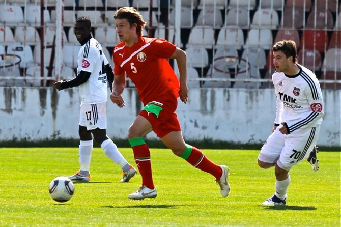 Дмитрий Бага впервые забил за Олимпийскую сборную