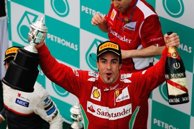 Фернандо Алонсо выиграл 28-й Гран-при в карьере.