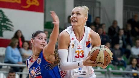 Одну из лучших баскетболисток Беларуси занесло в Ливан – она помогает чемпиону отстоять титул