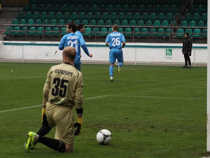В главном матче тура «Динамо» не оставило шансов «Гомелю».
