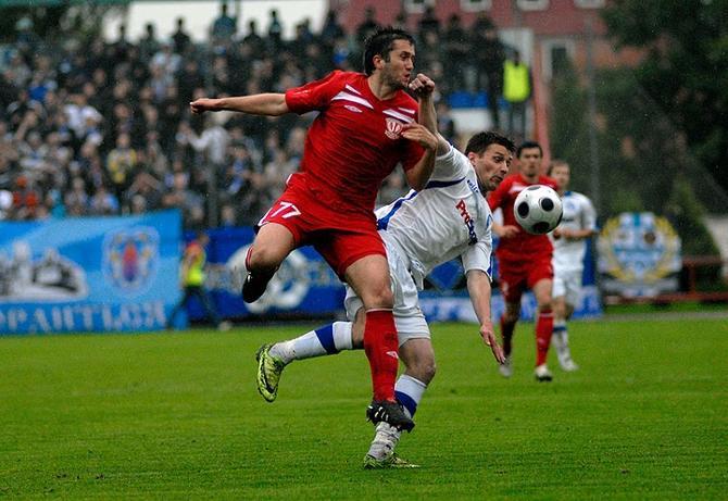 По ощущением Сазанкова, он забивал гол не из офсайда.