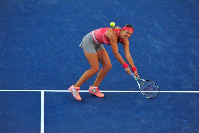 Выиграв второй сет, Виктория Азаренко не смогла настроиться на третий, и в итоге уступила в матче