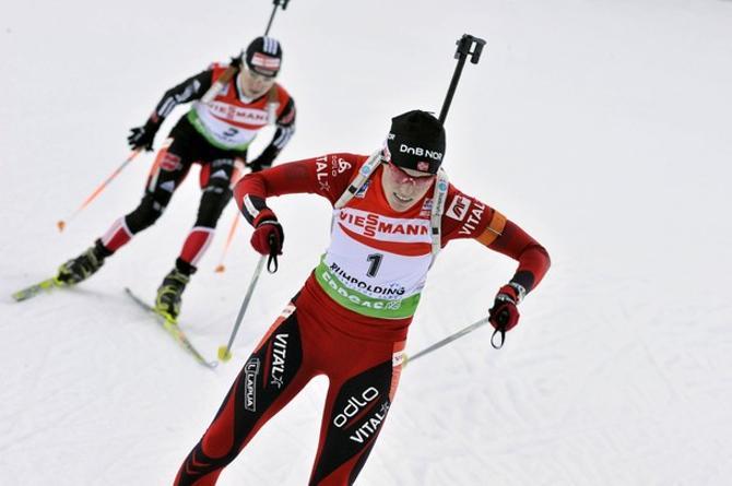 Тура Бергер выиграла соперничество у Андреа Хенкель