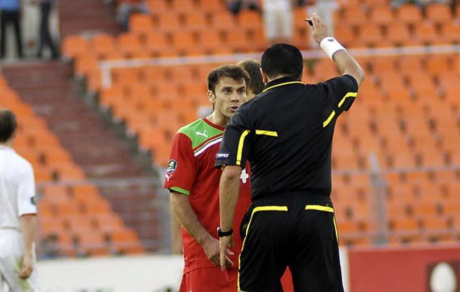 Тимофей Калачев не считает себя виноватым в удалении в матче с Боснией.