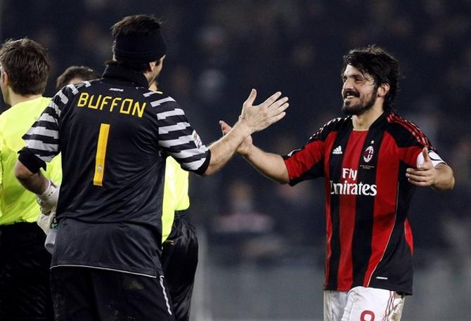 Дженнаро Гаттузо забил своему хорошему приятелю Джанлуиджи Буффону.