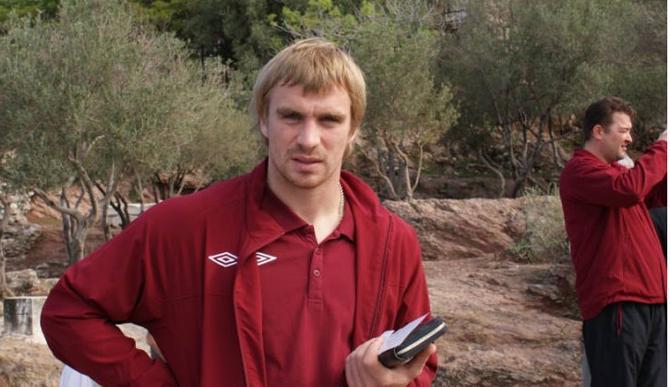 Сергей Корниленко наконец-то сумел отличиться за