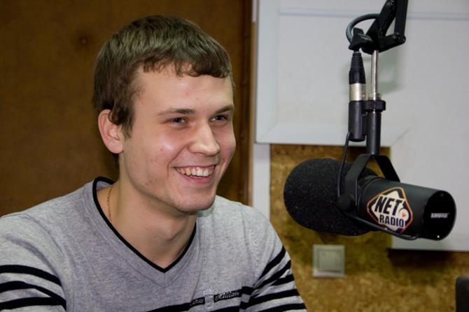 Новобранец БАТЭ Денис Поляков - человек жизнерадостный.