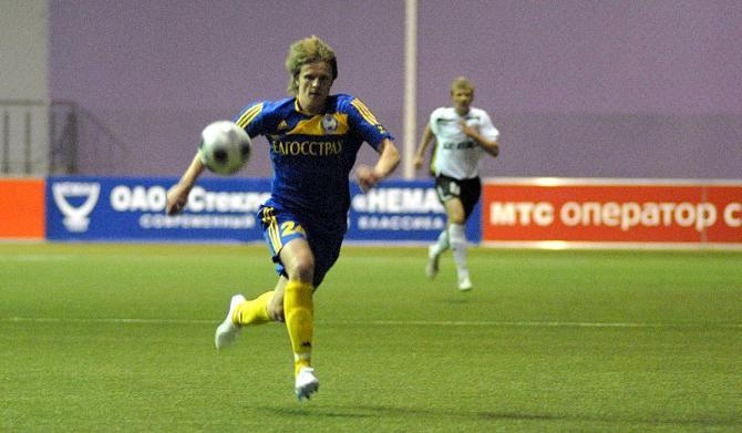 Едва переехав в Борисов, Евгений Кунцевич выиграл первый трофей. В БАТЭ часто так бывает