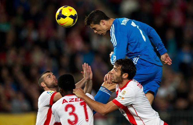 «Реал» в Альмерии просто отрывался