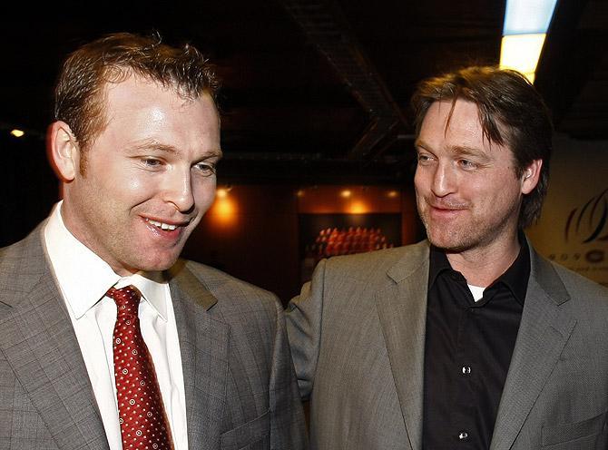 Патрик Руа (справа) снова в ударе