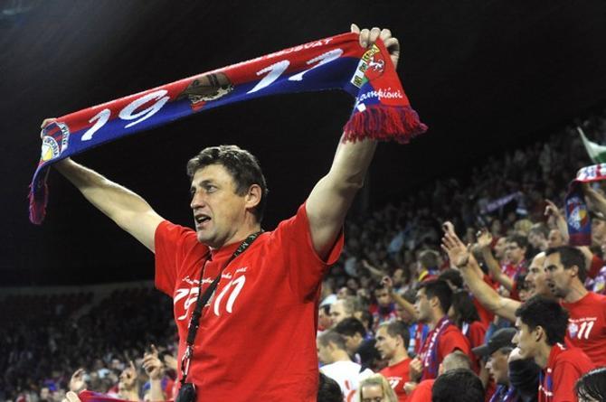 Чешские болельщики оказались весьма миролюбивыми, особенно на фоне поляков, приехавших поддержать БАТЭ
