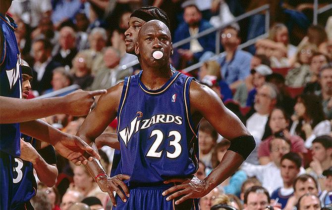 Майкл Джордан был первым, кто навсегда связал в одно целое жвачку и баскетбол