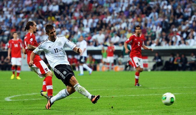 Клозе очень скоро может стать лучшим бомбардиром в истории сборной Германии