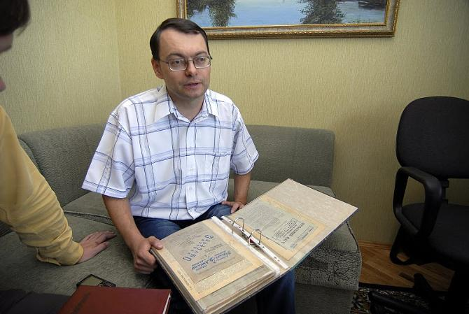Коллекционеру Егору Рогацевичу повезло, что жена у него понимающая
