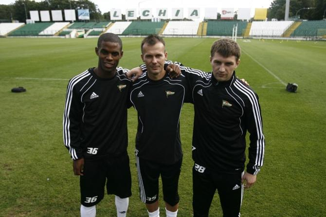 Александр Сазанков (справа) с партнерами