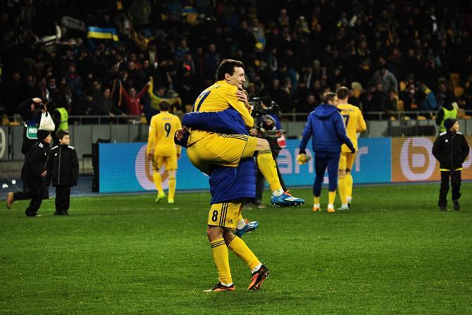 Радость украинцев.
