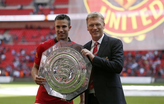 Дэвид Мойес после переезда в Манчестер выиграл свой первый трофей