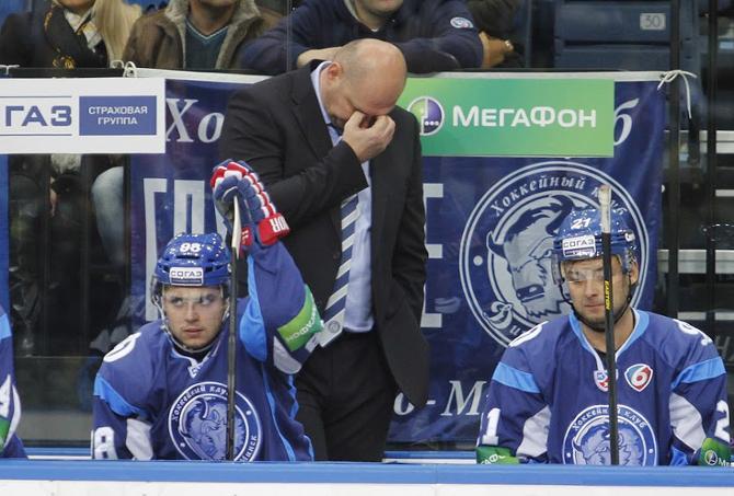 В этом сезоне Александру Андриевскому часто приходится комментировать поражения