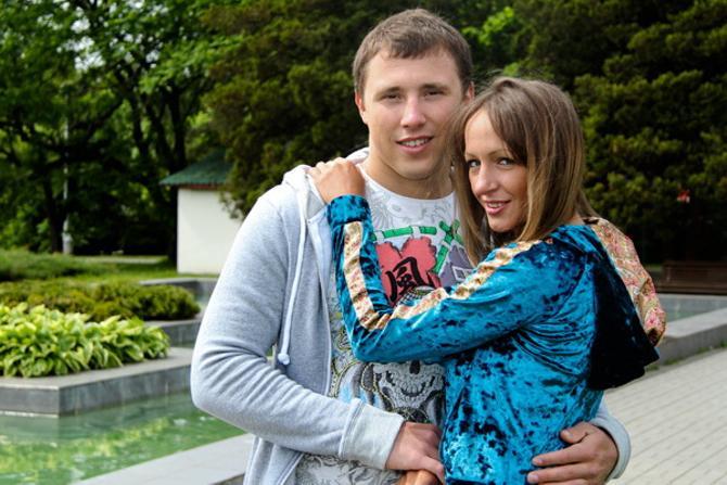 Сергею Остапчуку и его девушке Эле понравилась экскурсия по Ботаническому саду