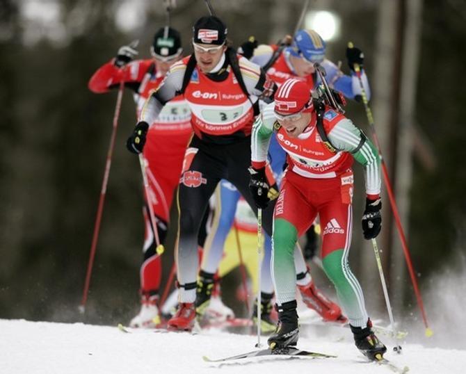 Александр Сыман давненько не возглавлял гонку
