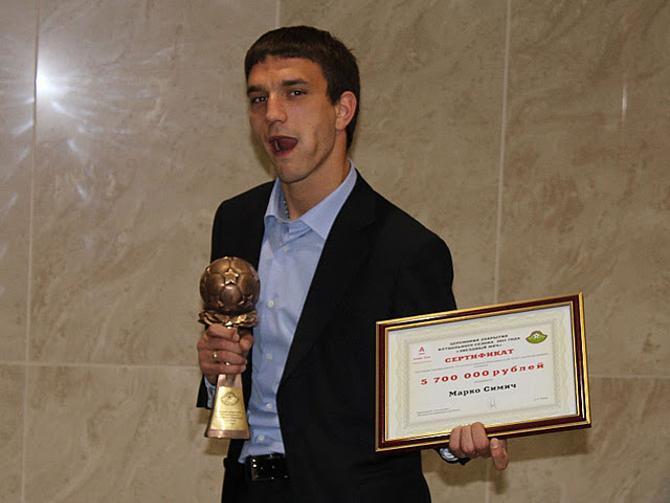 Для Марко Симича не стало неожиданным признание лучшим защитником чемпионата.
