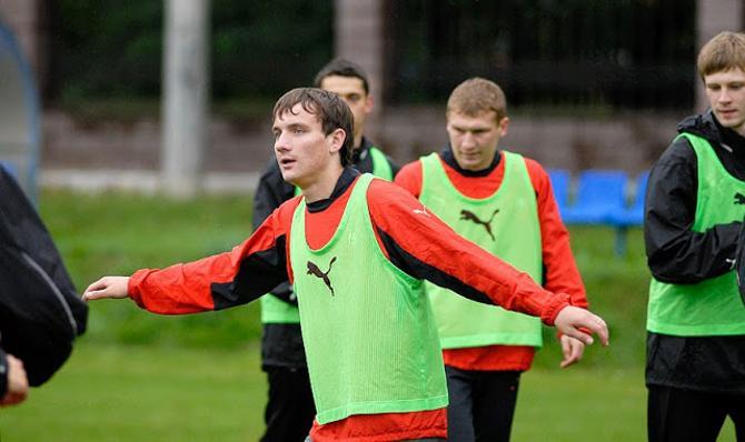 Свой первый вызов в национальную сборную Беларуси Михаил Гордейчук получил уже будучи игроком «Белшины»