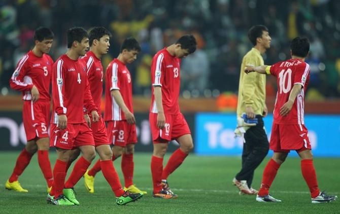 Сборная Северной Кореи оказалась самой слабой на турнире.