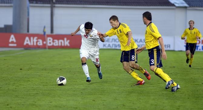 В первом матче реактивная белорусская десятка себя не показало, но, может, в Борисове Юрченко прорвет