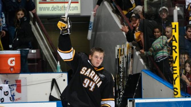 Алекс Гальченюк считается одним из наиболее перспективных молодых игроков в Северной Америке.