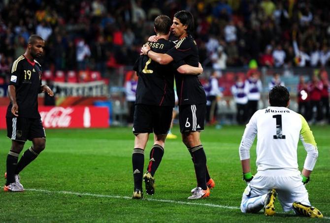Германия второй раз подряд стала третьей на чемпионате мира.