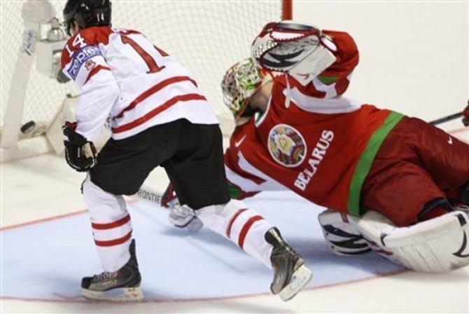 На нынешнем чемпионате мира белорусские игроки не сильно помогали Андрею Мезину.