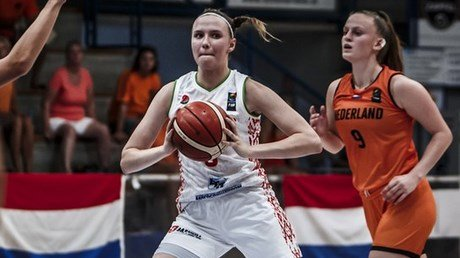Малашко невероятна! Вы должны запомнить имя этой белорусской баскетболистки