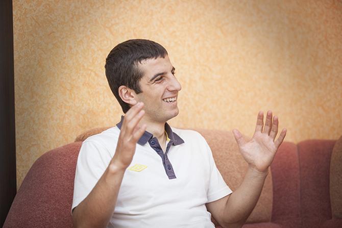 Норайр Гезалян забивал Давиду де Хеа