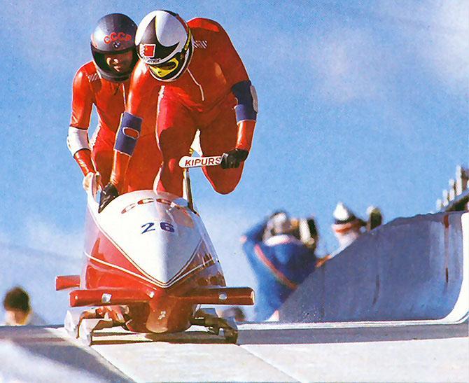 Золотой экипаж Калгари-88.