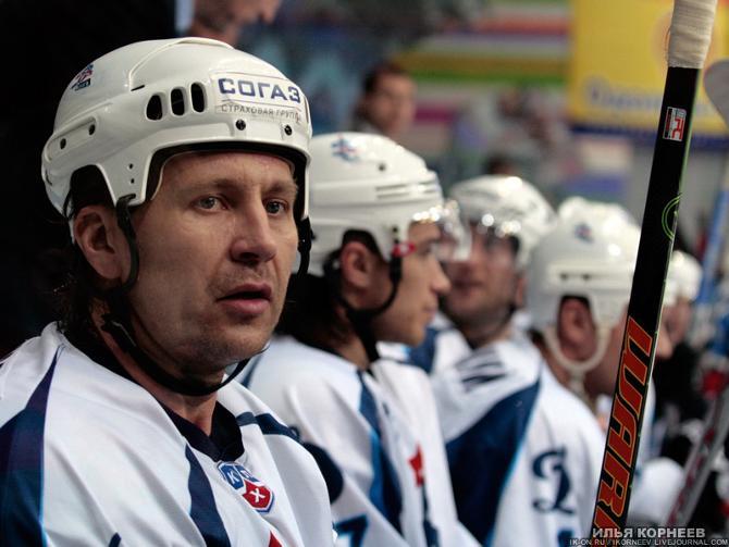 Игорь Уланов вполне успешно играл в КХЛ и в 39-летнем возрасте.