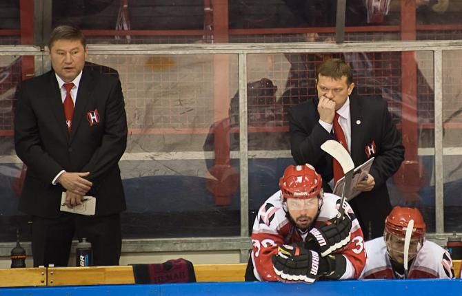 «Неман» на фоне команд КХЛ временами выглядел удручающе