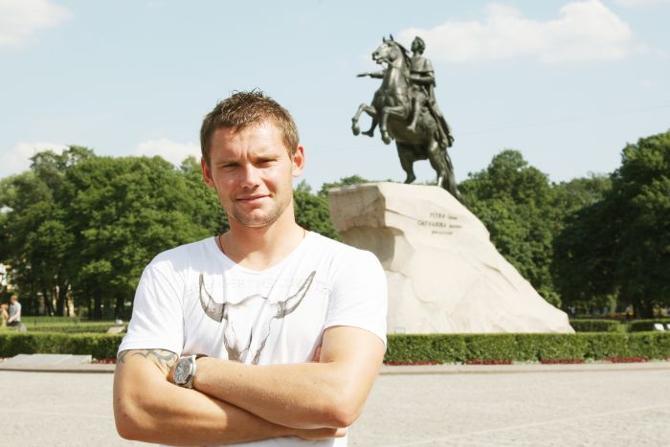В «Зените» Юрий Жевнов играл крайне мало