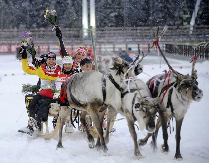 Биатлонисты мчатся к новому сезону