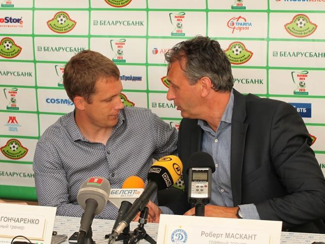 Виктору Гончаренко и Роберту Масканту вряд ли стоит жаловаться на подбор игроков, некоторые из которых сейчас пребывают в зверской форме.