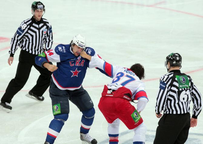 Вряд ли в серии между СКА и ЦСКА будет упорная борьба.