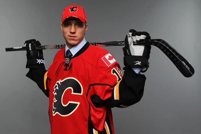 Маркус Гранлунд. Выбран «Калгари» во втором раунде драфта НХЛ-2011