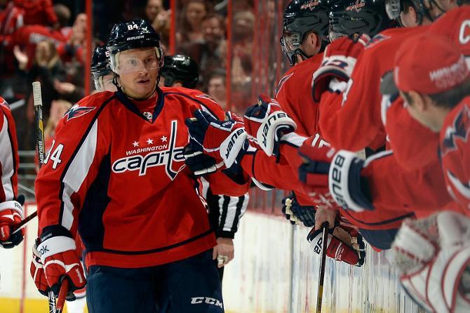 Михаил Грабовский забросил сотую шайбу в НХЛ в ворота