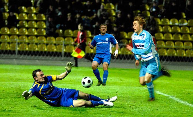 Немногие белорусские футболисты сумели уехать за границу